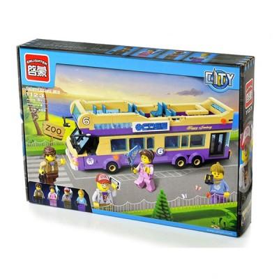 Детский конструктор Brick «Экскурсионный автобус»