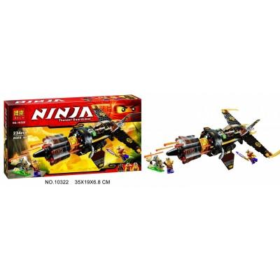 """Конструктор BELA Ninja """"Истребитель Коула"""""""