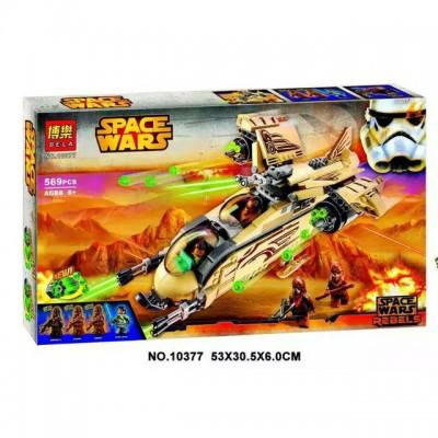 Конструктор Bela Star Wars Боевой корабль Вуки