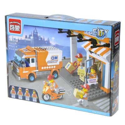 "Конструктор Brick City Series ""Служба доставки"""