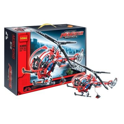 Конструктор DECOOL «Спасательный вертолет»