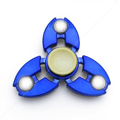 Cпиннер хромированный, сбалансированный (синий)