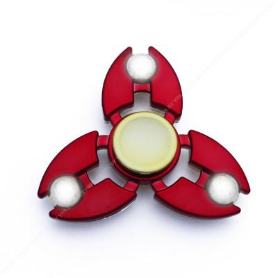 Cпиннер хромированный, сбалансированный (красный)