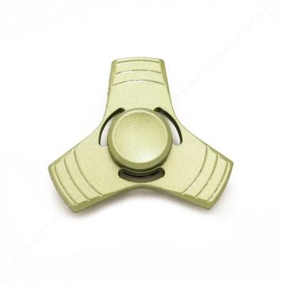 Спиннер зеленый металлический