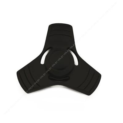 Спиннер черный металлический