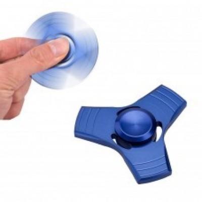 Спиннер синий металлический