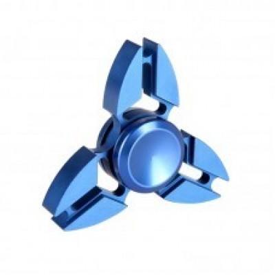 Спиннер металлический синий