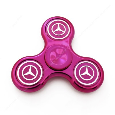"""Спиннер """"Mercedes"""" / розовый"""