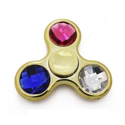 "Спиннер ""кристал"" золотистый"