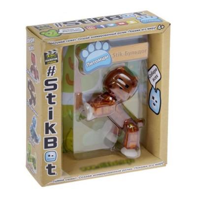 Фигурка stikbot - бульдог