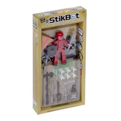 Фигурка stikbot + оружие